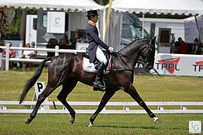Saumur Complet / CCI 4*L / Dressage / Burton Already in the Lead; Levecque at Second Place