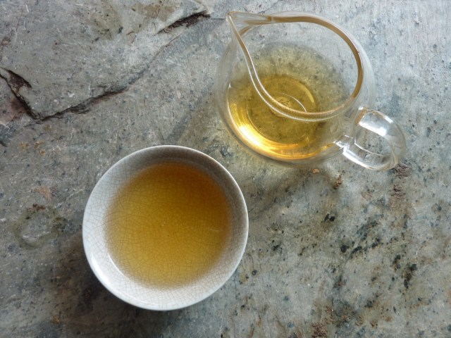 Bang Wai 2012 Spring sheng Puerh broth