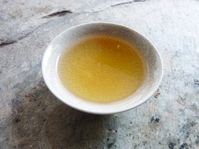 Bang Wai broth after 6 - 7 steepings