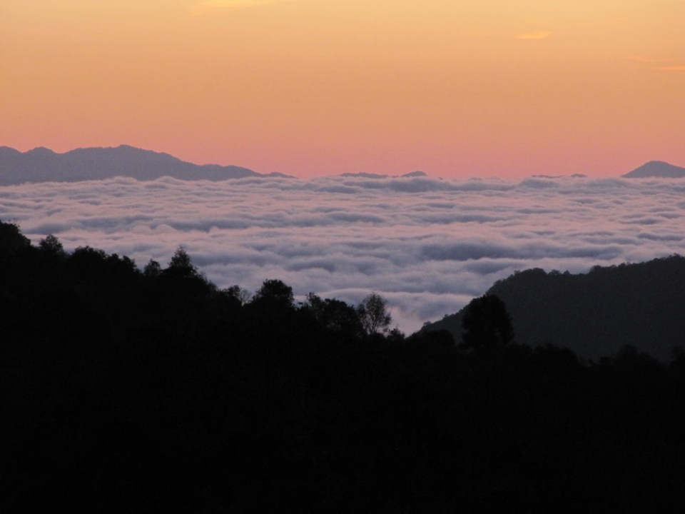 dawn on Youle Shan