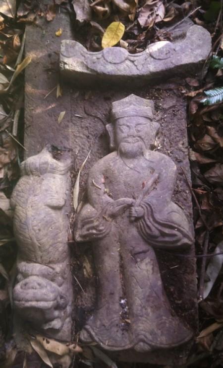 mang zhi gravestone