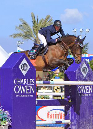 Tackeray, pictured with Ben Maher.