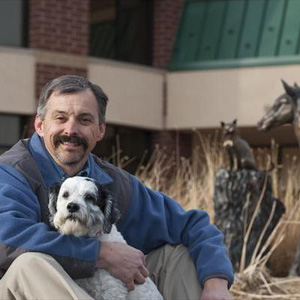 Dean Hendrickson, director of the Veterinary Teaching Hospital at Colorado State University.