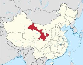 Gansu province in China.