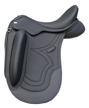 A Sue Carson dressage saddle.