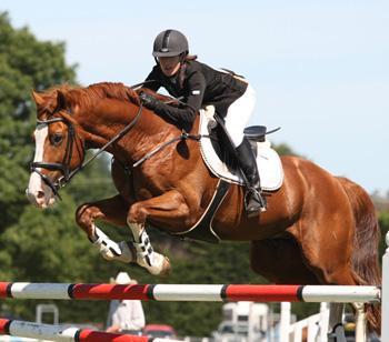 Claudia Hay and Euro Sport Heartbreaker.
