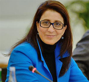 IOC Executive Board member Nawal El Moutawakel. © IOC/Richard Juilliart
