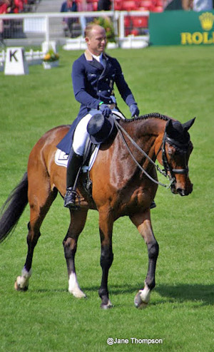 Michael Jung and Leopin are sixth.