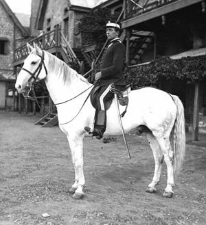 MC E.P. Ridge at Old Police Barracks, January 1917.