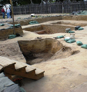 Archaeological dig at Historic Jamestowne.