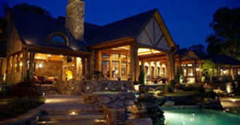 The luxury equestrian estate cost $US12 million to build in 2008.
