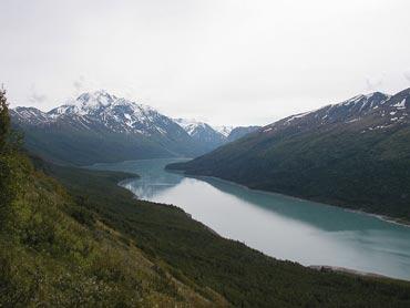 Eklutna Lake and Bold Peak, in Chugach State Park, Alaska. Photo: Wikipedia/Spireguy