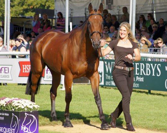 De Novo News at Tina Cook at Burghley in 2013. © Mike Bain