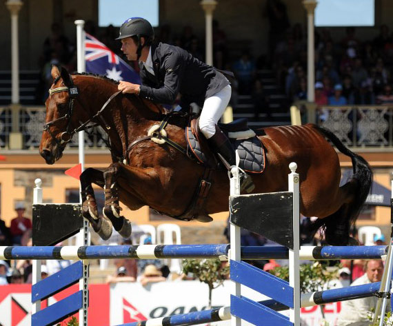 Christopher Burton made Adelaide history with catch ride TS Jamaimo when winning the HSBC CCI4*.