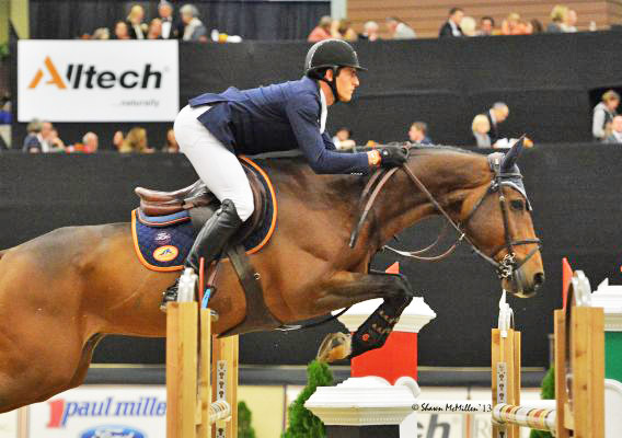 Runners-up Nicola Philippaerts and Cortez.