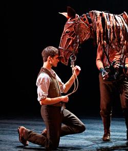 Albert and Joey. Photo: National Theatre, UK