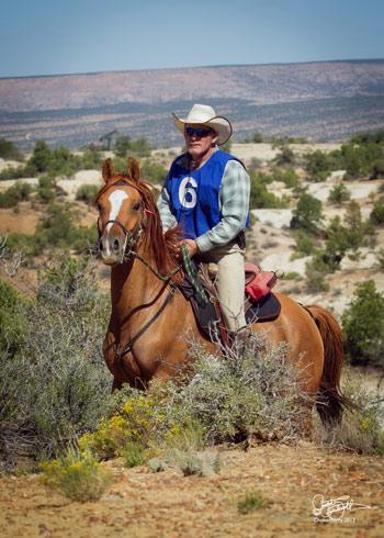 Ice and Ken at Chokecherry Canyon, Farmington, New Mexicom in September 2013.