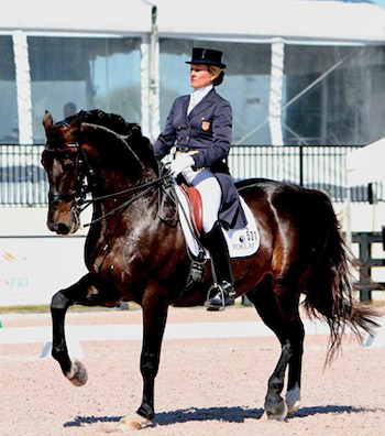 The USA's Tina Konyot and Calecto V have qualified for the Reem Acra FEI World Cup Dressage 2014 Final at Lyon.