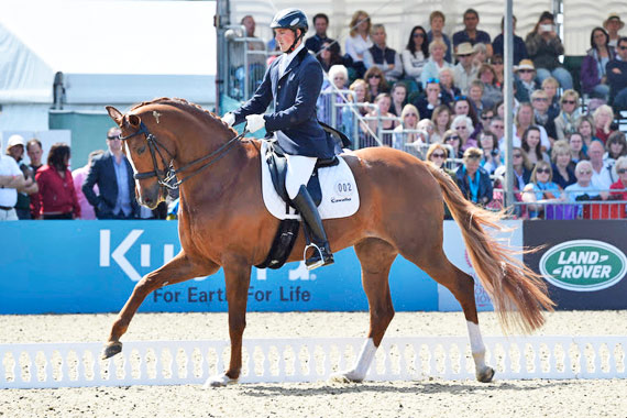 Woodlander Farouche and Michael Eilberg in the Castle Arena.