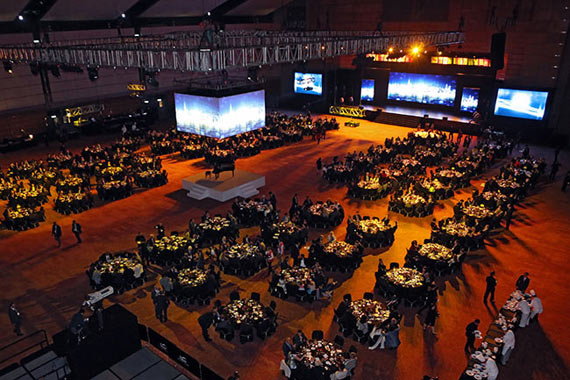 The 35th Asian Racing Conference opening ceremony and gala dinner was held at the Hong Kong Convention and Exhibition Centre last night.