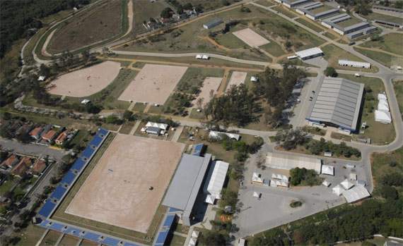 The National Equestrian Center in Deodora, venue for the horse sports of the Rio 2016 Olympics.