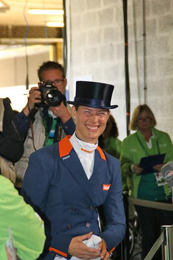 What a superstar! Adeline Cornelissen.