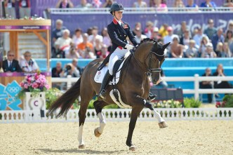 Freestyle stars: Charlotte Dujardin and Valegro, are Olympic, World, and  European champions. © FEI/Kit Houghton