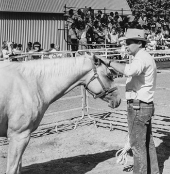 Building confidence at the California State Fair, Sacramento, 1989.