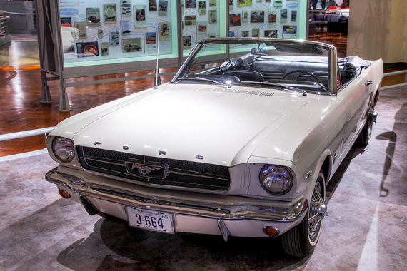 The 1964 Ford Mustang, serial number 1. Photo: Alvintrusty/Wikipedia