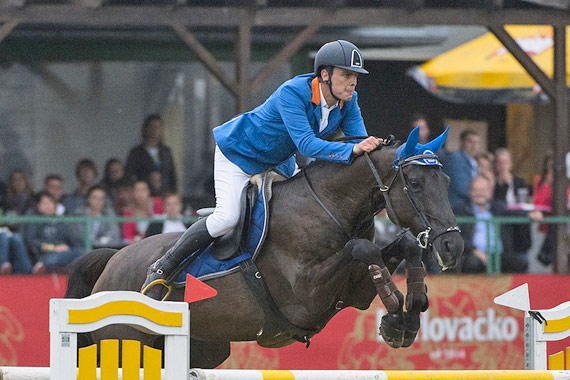 Slovenia's Luka Zaloznik and Eloise du Petit Vivier claimed individual gold and team silver in the Senior category at the FEI Balkan Jumping Championships 2014 at Zagreb in Croatia last weekend.