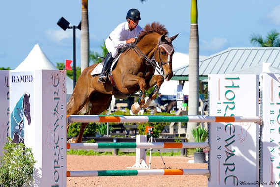 Todd Minikus is among the favourites for the feature showjumping competition at the Central Park Horse Show.