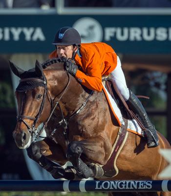 Winning Dutch team member Maikel van der Vleuten and VDL Groep Verdi.