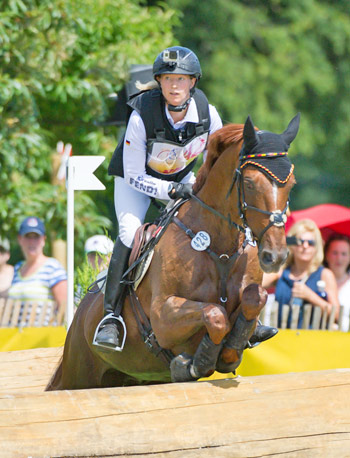 Newly crowned world champion Sandra Auffarth will set out with a strong German team at this weekend's FEI Nations Cup Eventing final leg in Boekelo, where Longines will be the Official Partner.