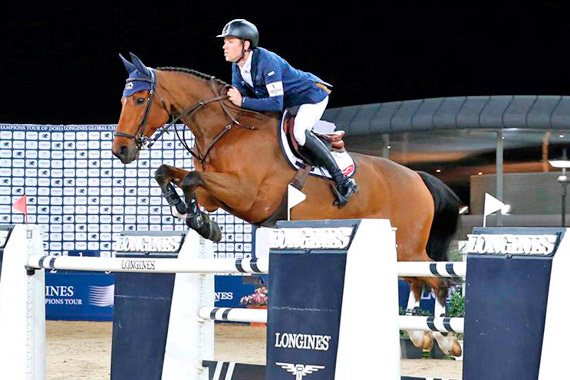 Scott Brash and Hello Sanctos in Doha.
