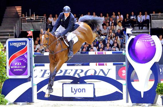 Lyon runner-up Wout-Jan van der Schans and Capetown.