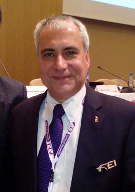 FEI President Ingmar de Vos.