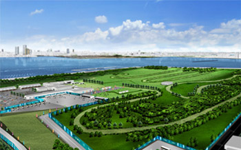 Eventing's cross-country phase will take place at Tokyo's Sea Forest venue.