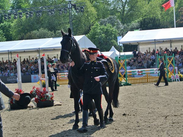 Mr Twister appeared at the Royal Windsor Horse Show before heading into retirement.