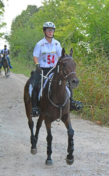 Under 21 rider Camilla Malta and Barbaforte Bosana were the best placed Italian combination, finishing in fourth place.