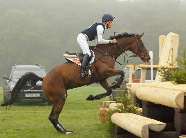 Christoper Burton (AUS) on Nobilis 18, who finished second in the CCI3* at Blenheim.