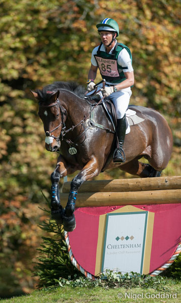 Clark Montgomery and Loughan Glen led all the way to win the CCI3* class at Blenheim.