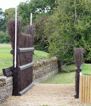 Burghley's Cottesmore Leap.