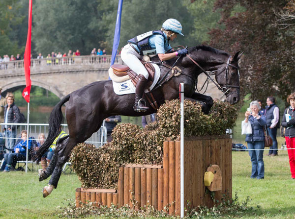 Jonelle Price and Cloud Dancer II led all the way to win the CIC3* for eight-and nine-year-old horses at Blenheim.