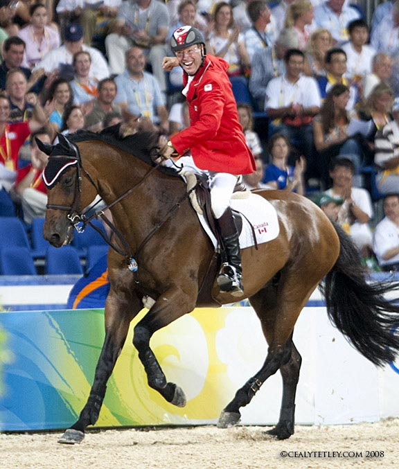 In Style and Ian Millar at the 2008 Beijing Olympics.