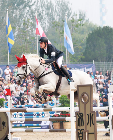 Scott Brash and Wavanta finished 11th overall in the China World Cup League final in Beijing on Wednesday.