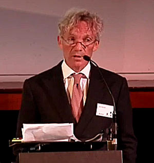 John Francome told delegates he believed a whip ban would be positive for racing. Photo: World Horse Welfare/YouTube