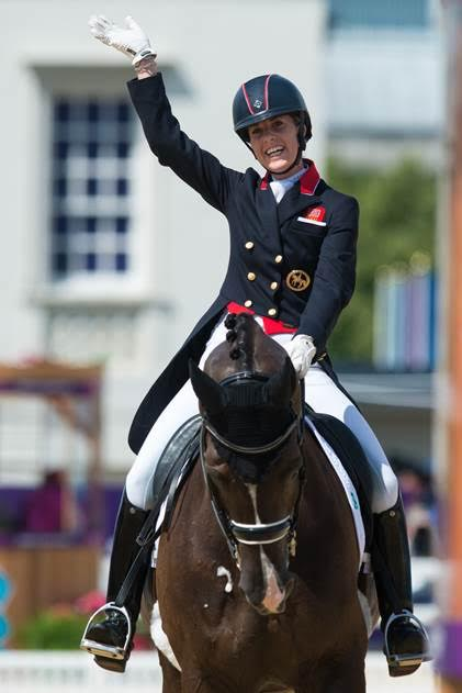 Charlotte Dujardin and Valegro.