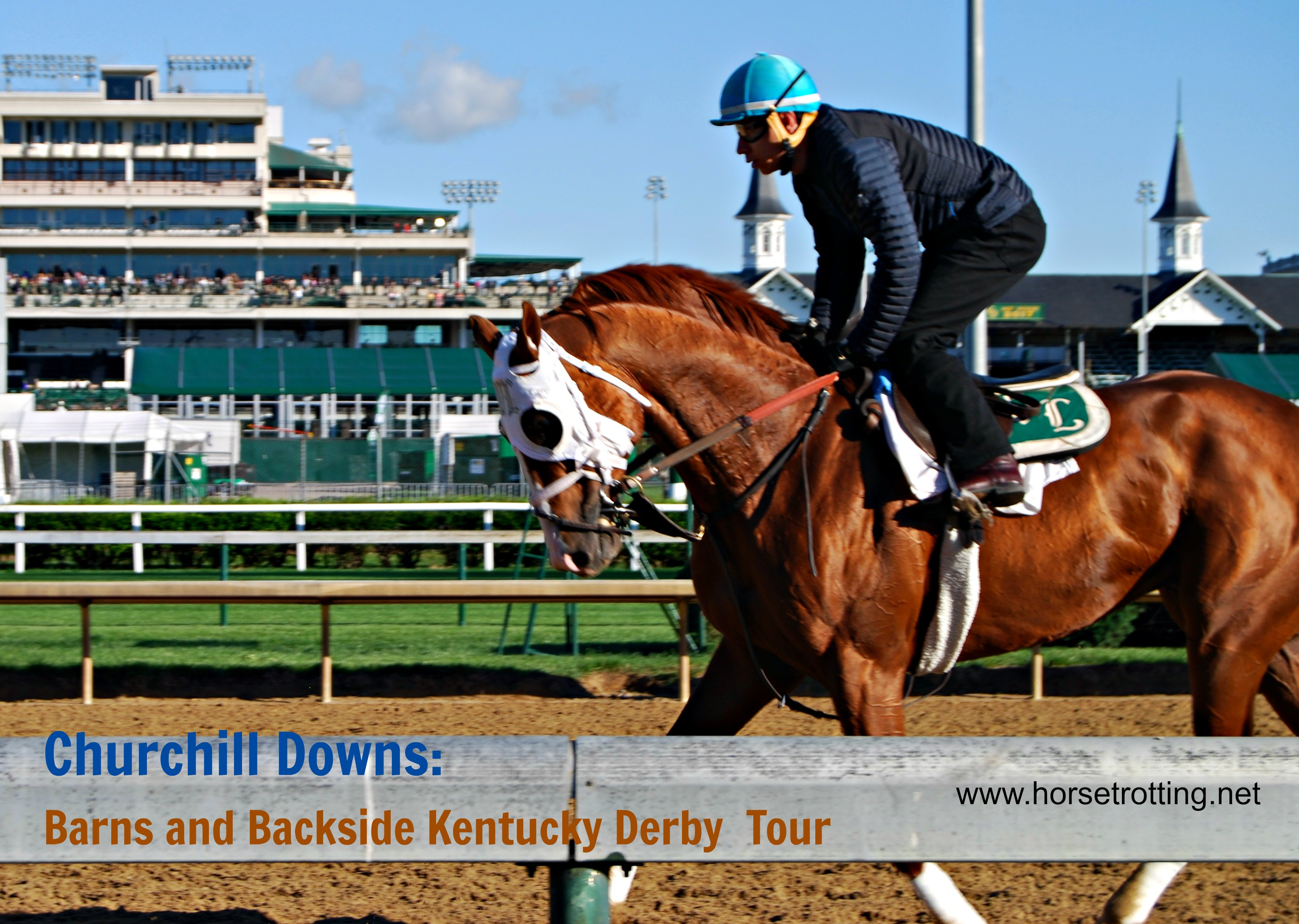 Travel Louisville, KY: Barns and Backside Tour Electric During Derby Week