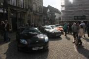 Aston Martins in Market Square