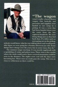 The Wagon - back cover